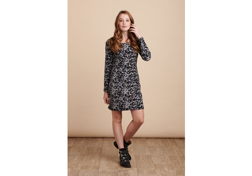 JABA Jaba Nadine Dress in Wild Black