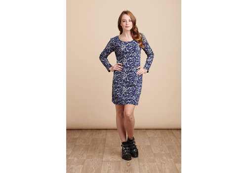 JABA Jaba Nadine Dress in Wild Blue