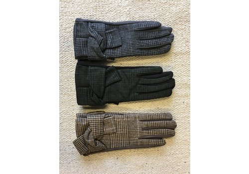 PURE Check Gloves