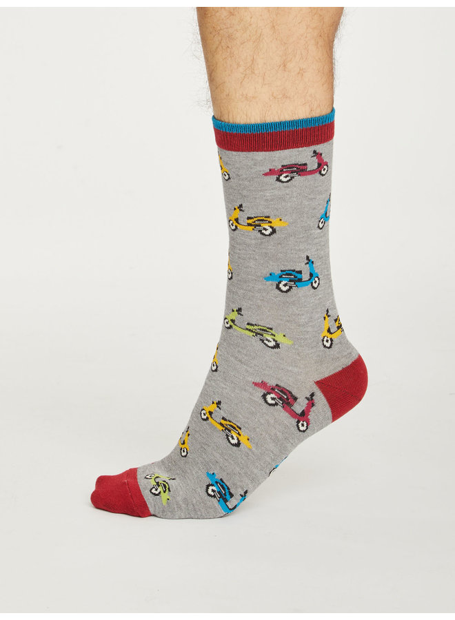 Thought Scooter Socks