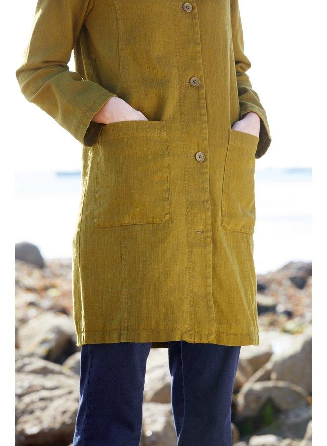 Seasalt Sea Crest Coat in Oak