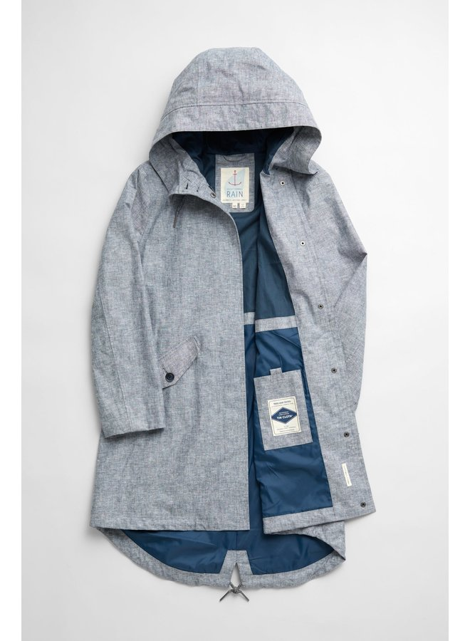 Sesalt  Seafaring Coat in Rosevean Light Night