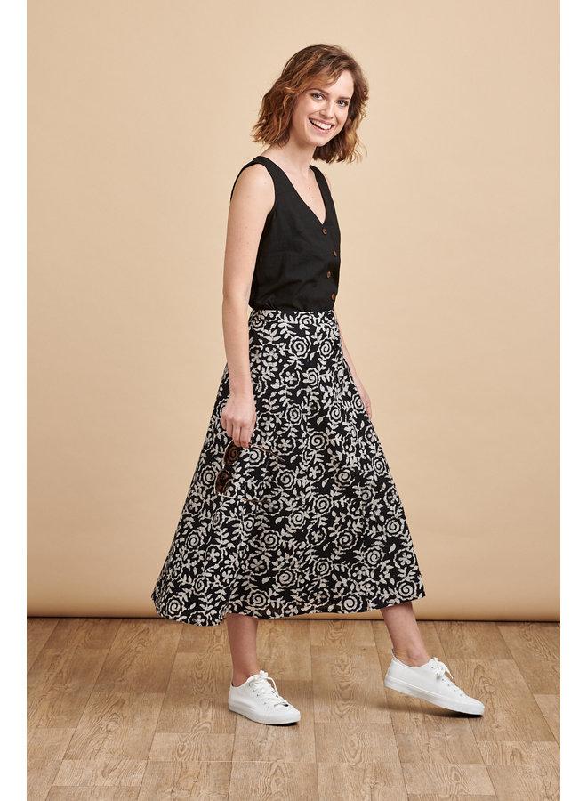Sienna Skirt in Swirl
