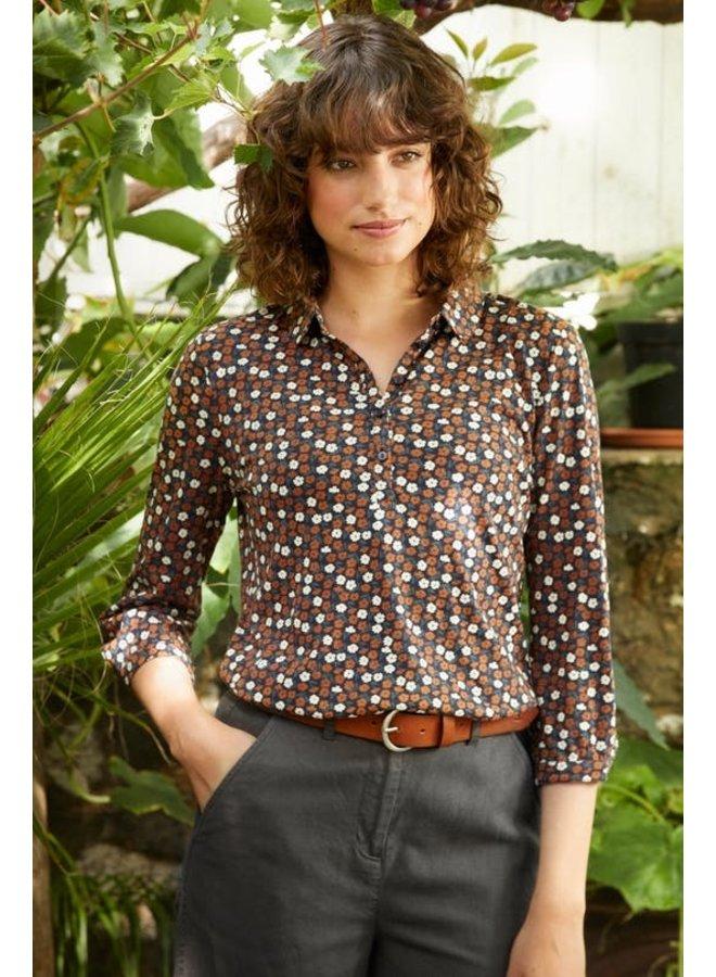 Day Mark Shirt in Primrose Ditsy Acorn