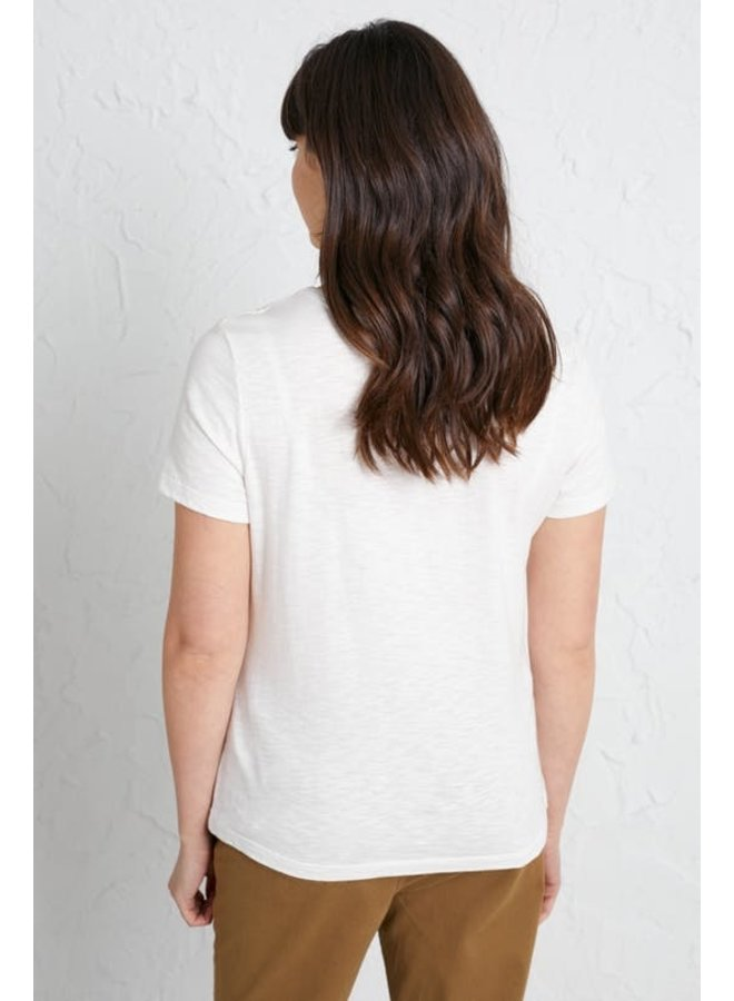 Reflection T-Shirt in  Salt