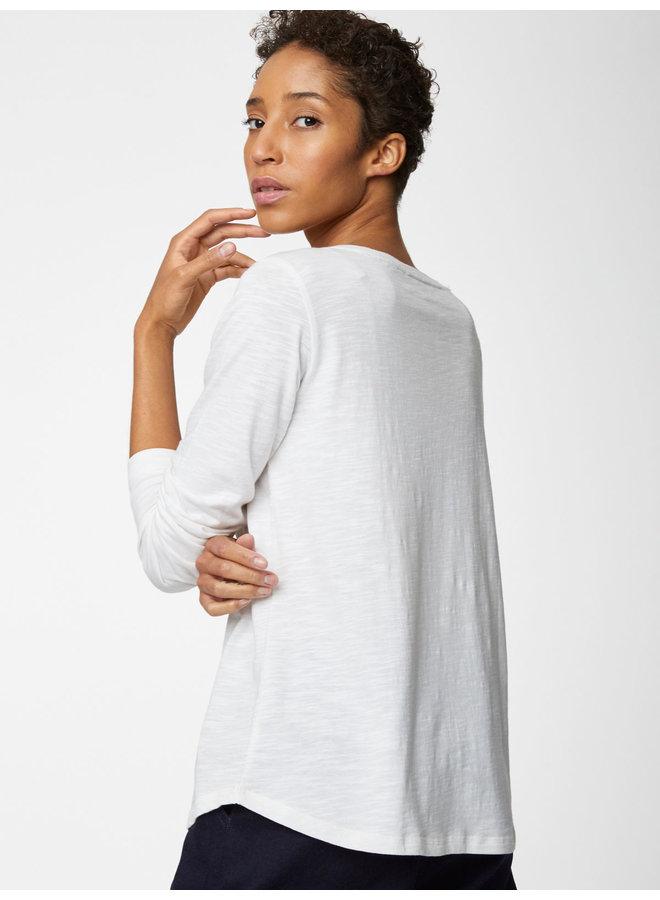 Fairtrade Organic Cotton Top in White