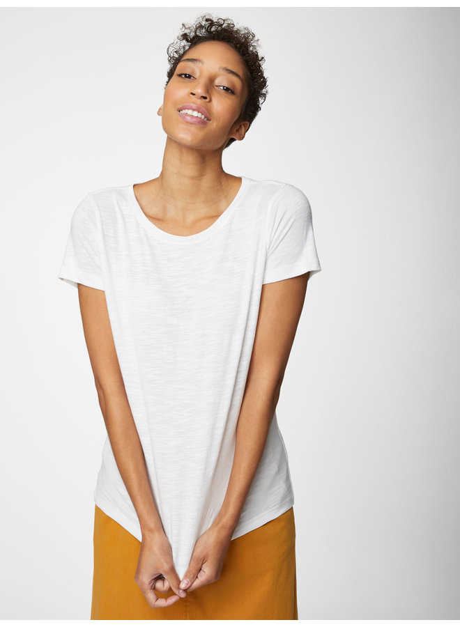 Thought Fairtrade Organic Cotton Tee in  White