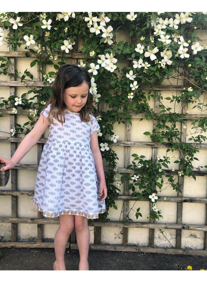 Thea Dress in White