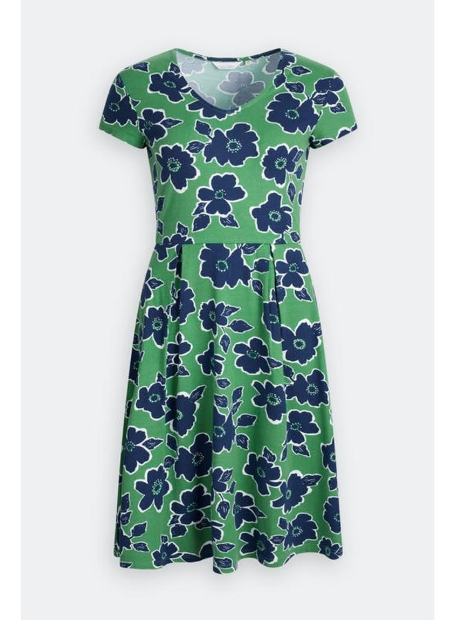 Seasalt Pier View Dress in Penwith Bloom
