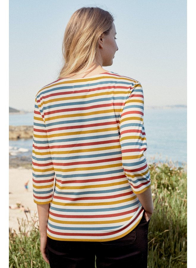 Sesalt Sailor Top in Mini Cornish Sunglow
