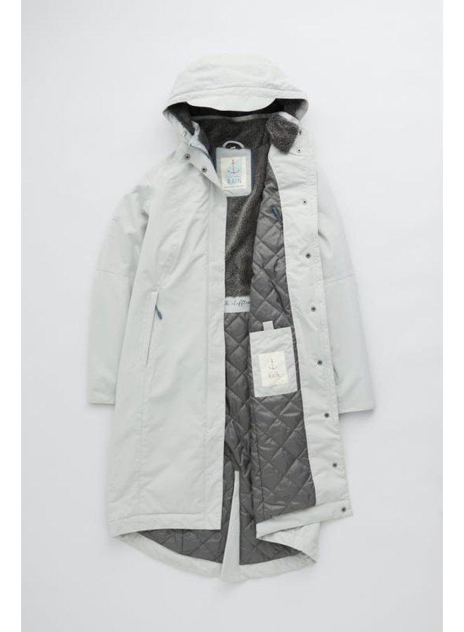 Seasalt Janelle Coat in Chalk Grey