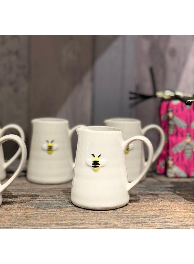 Ceramic Mini Bee Jug