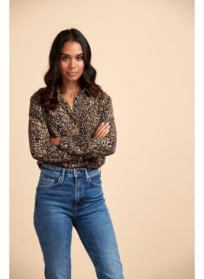 Jaba Esther Shirt in Leopard