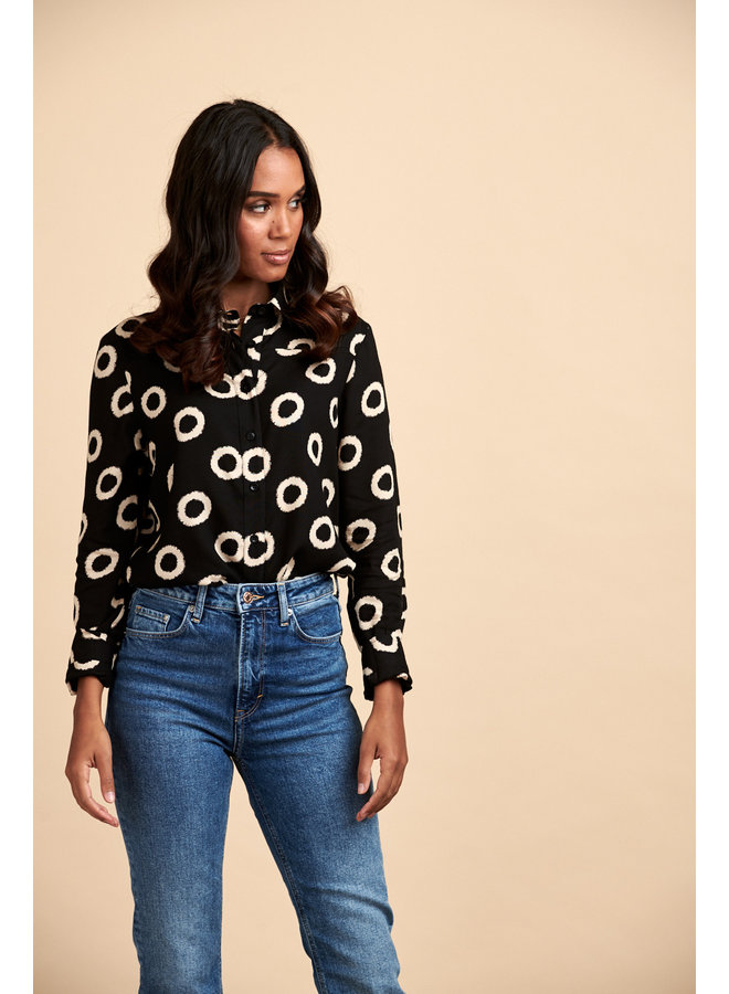 Jaba Aria Shirt - Circles