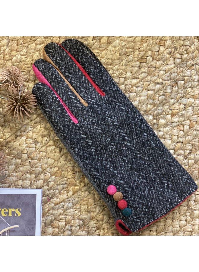 Herringbone Gloves