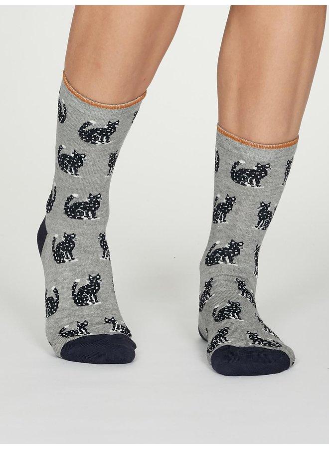Thought Kitty Socks