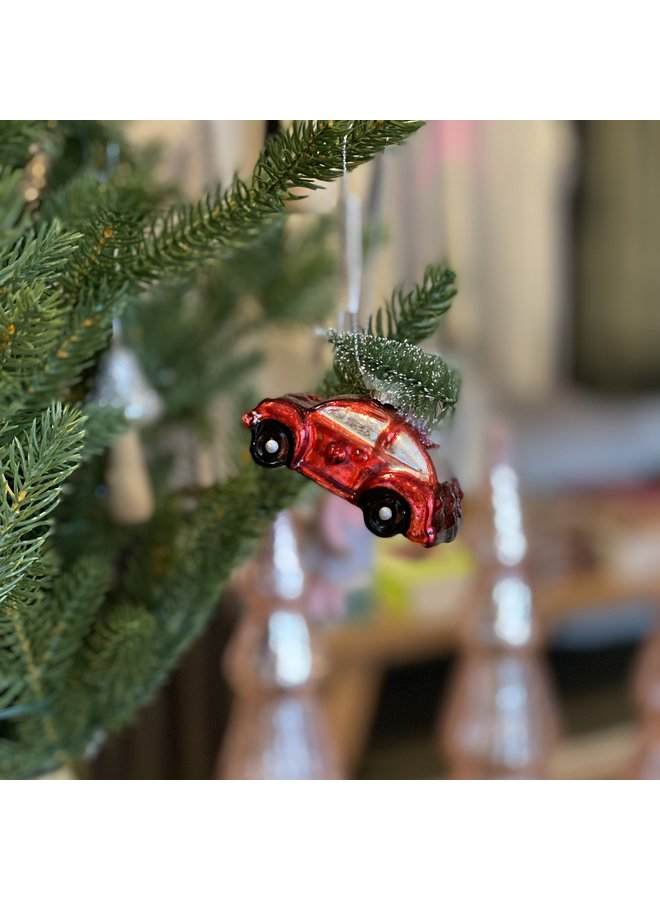 Red Car Tree Decoration