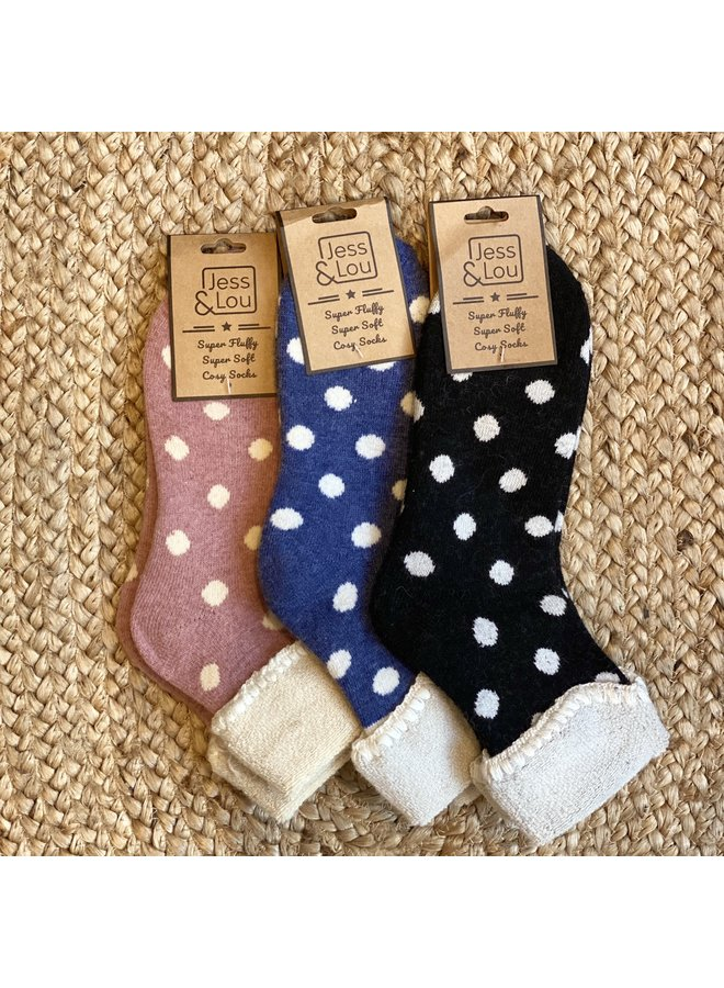 Cosy Big Spot Socks