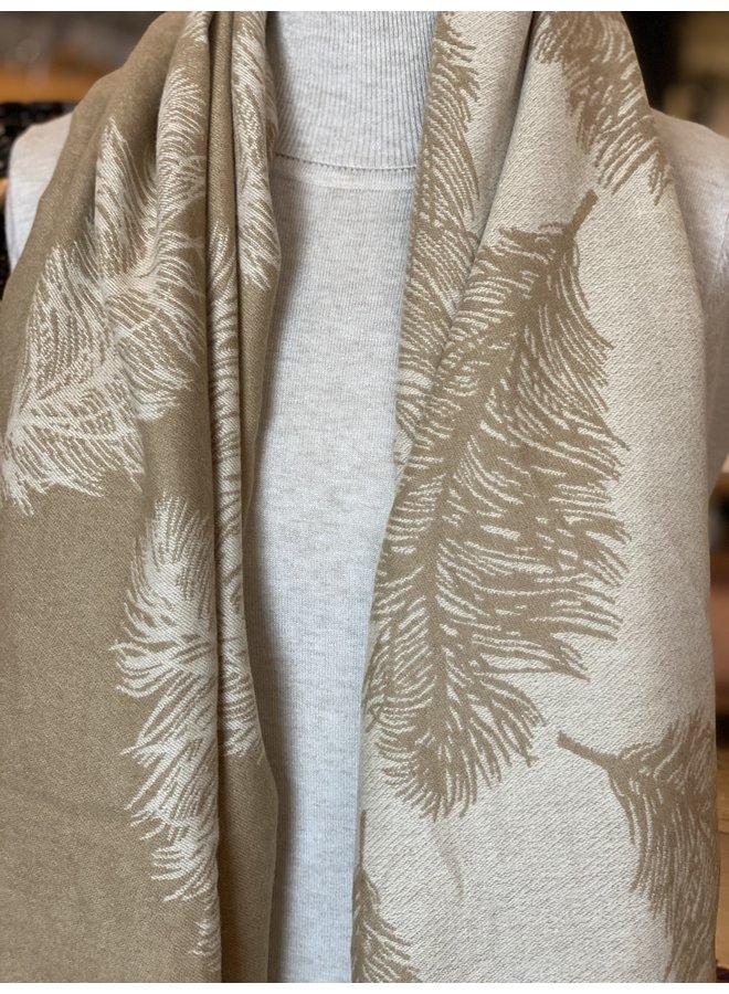 Soft Feather Shawl
