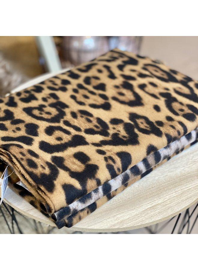 Leopard Print Shawl