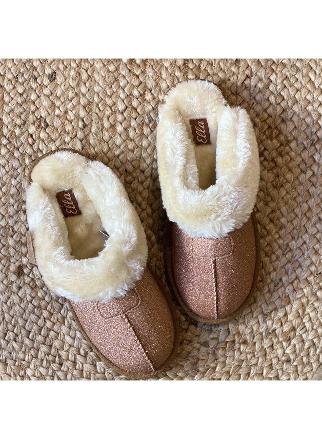 Luxury Spakle Slippers in Gold