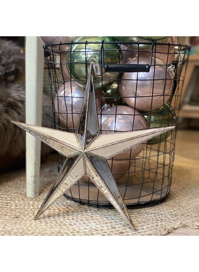 Mirror Star Ornament
