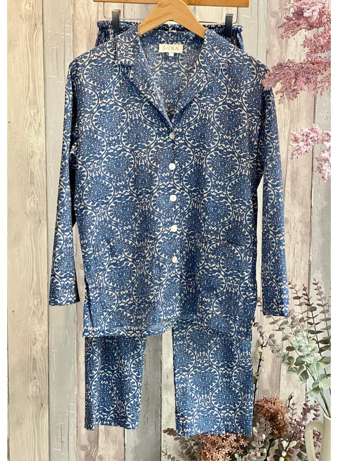 Jaba PJ's Set - Blue Block