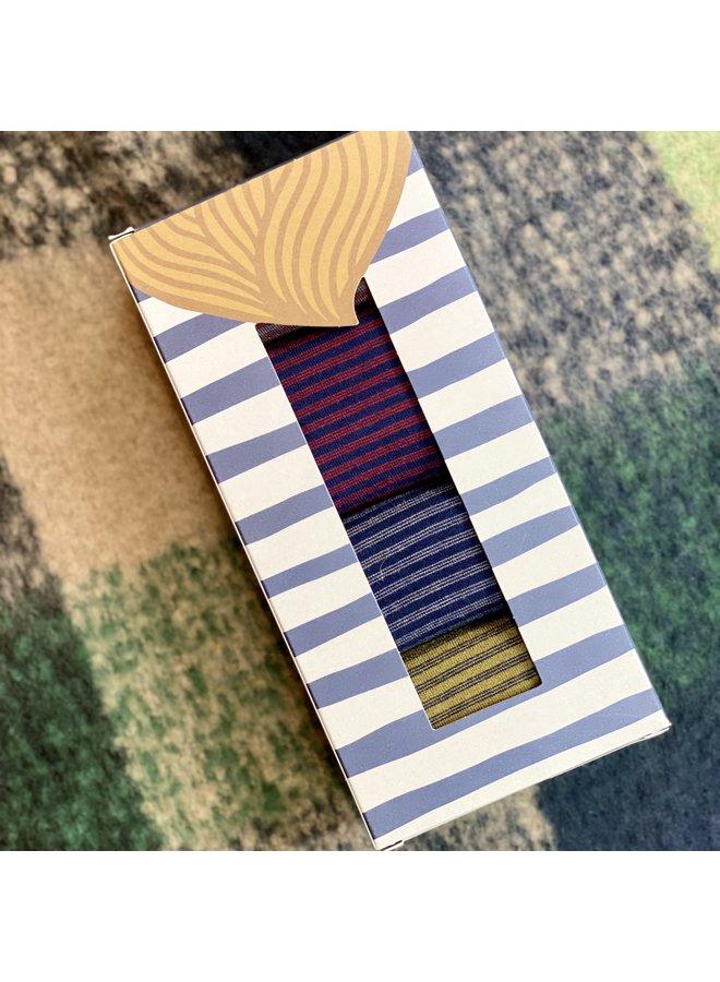 Seasalt Men's Everyday Socks Box of 4 - St Breock Mix