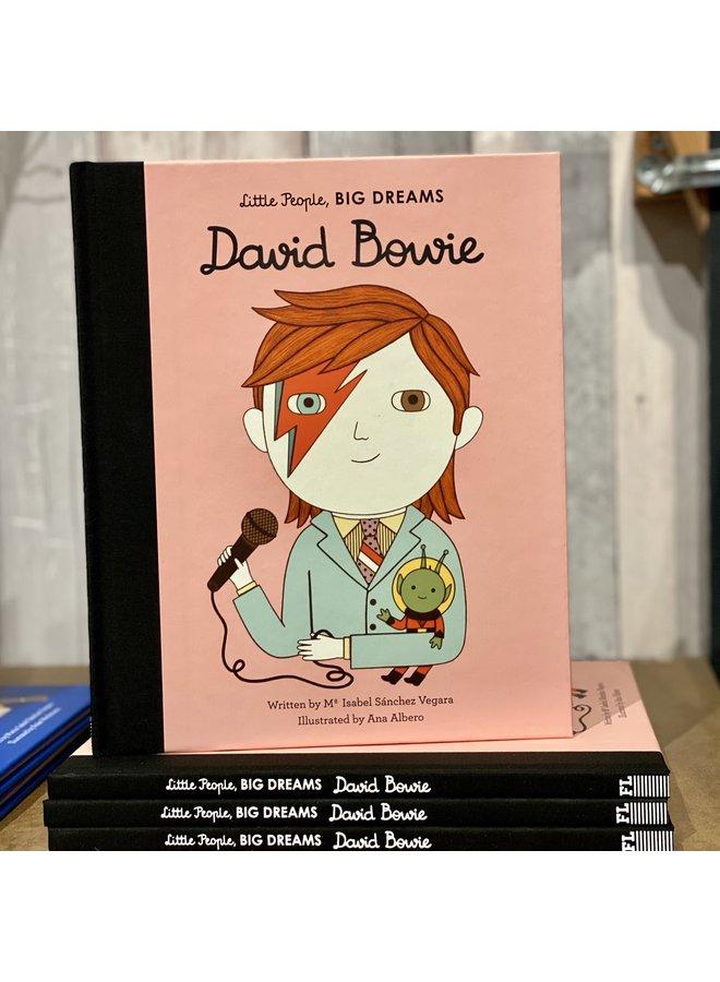 Little People Big Dreams: David Bowie