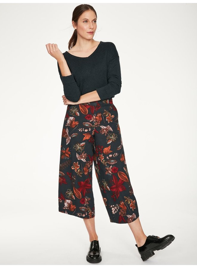 Thought Josefa Culottes in Midnight Navy