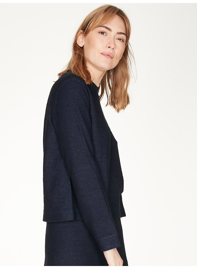 Thought Viola Top in Midnight Navy