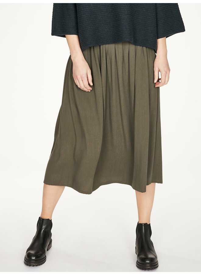 Thought Carnock Skirt in Walnut Grey