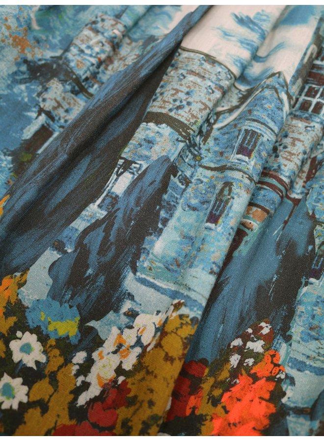 Thought Sissinghurst Tencel Tiered Midi Skirt