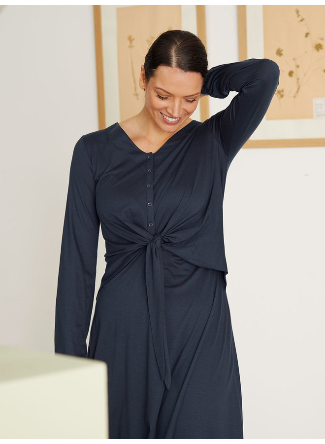 Thought Lamarck Tencel & Organic Cotton Jersey Dress