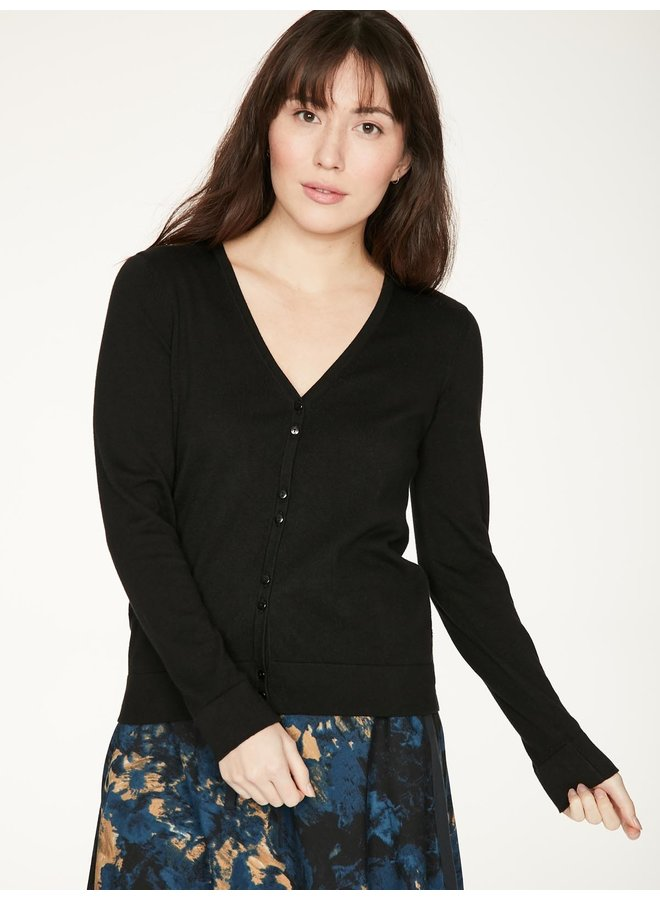 Thought Loren Cardigan in Black