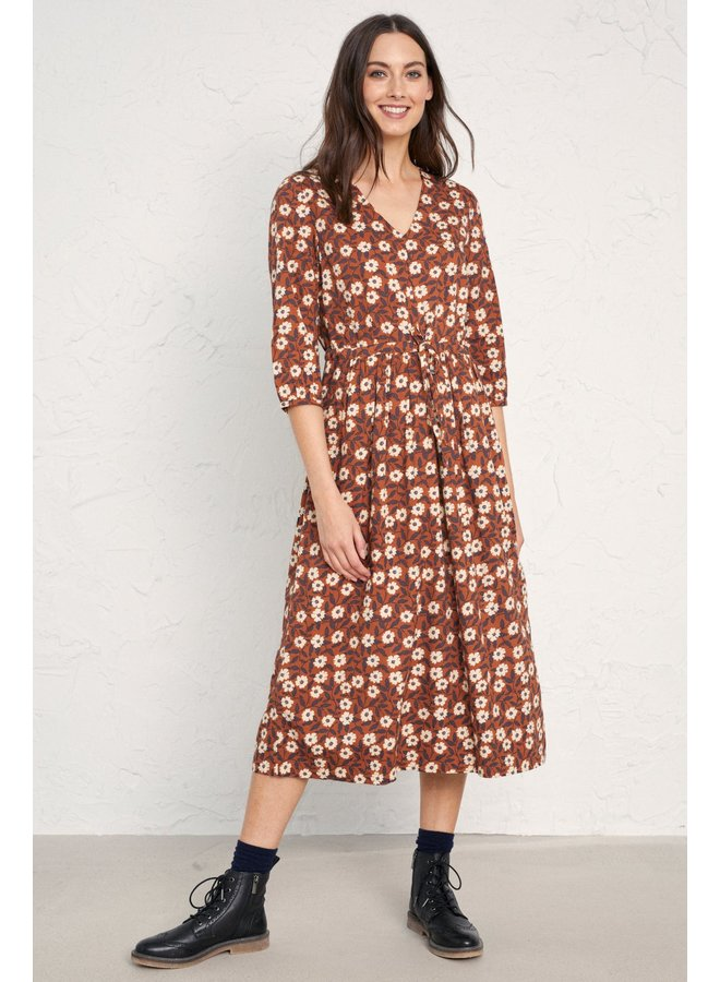 Seasalt Newton Midi Dress in Scratchy Floral