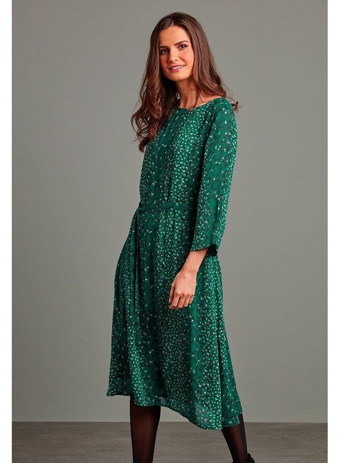 Adini Emmie Dress in Tatania Emerald