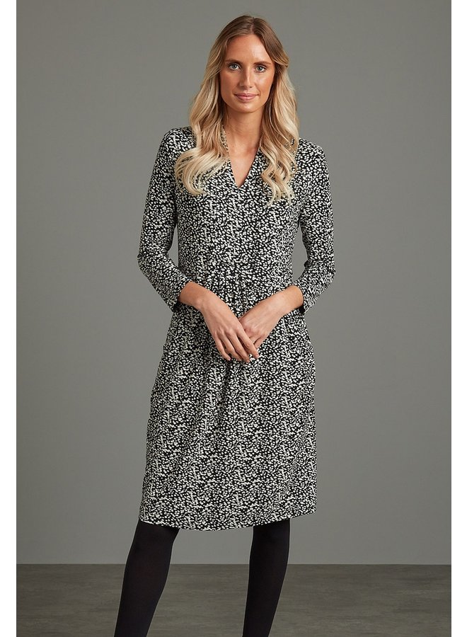 Adini Nicole Dress  Scatter Spot Print