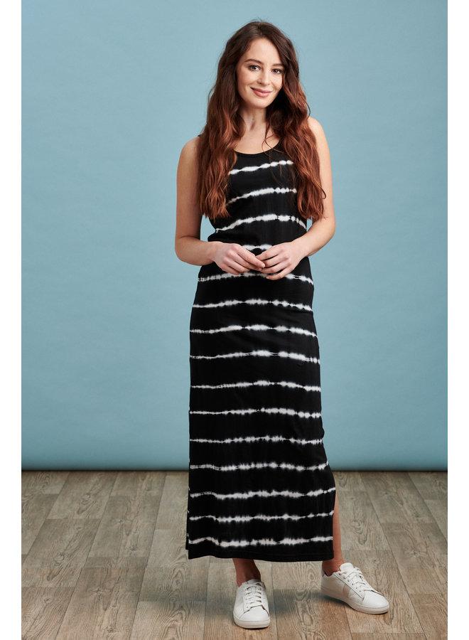 Jersey Maxi Dress in Tie Dye