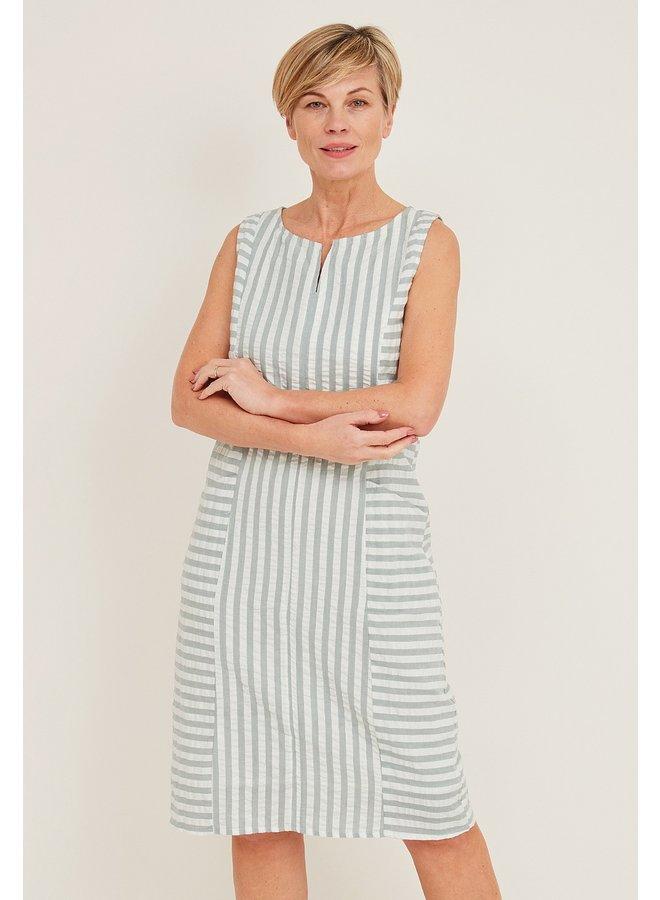 Adini Daria Seersucker Dress