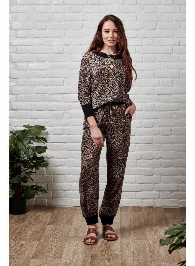 Jaba Leopard Lightweight Top