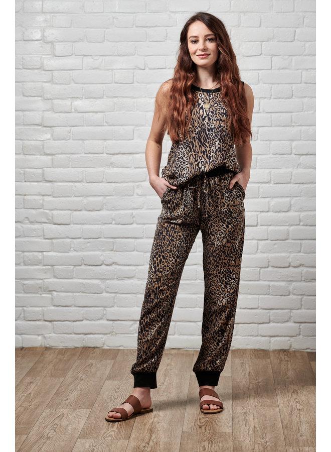 Jaba Leopard Lightweight Vest