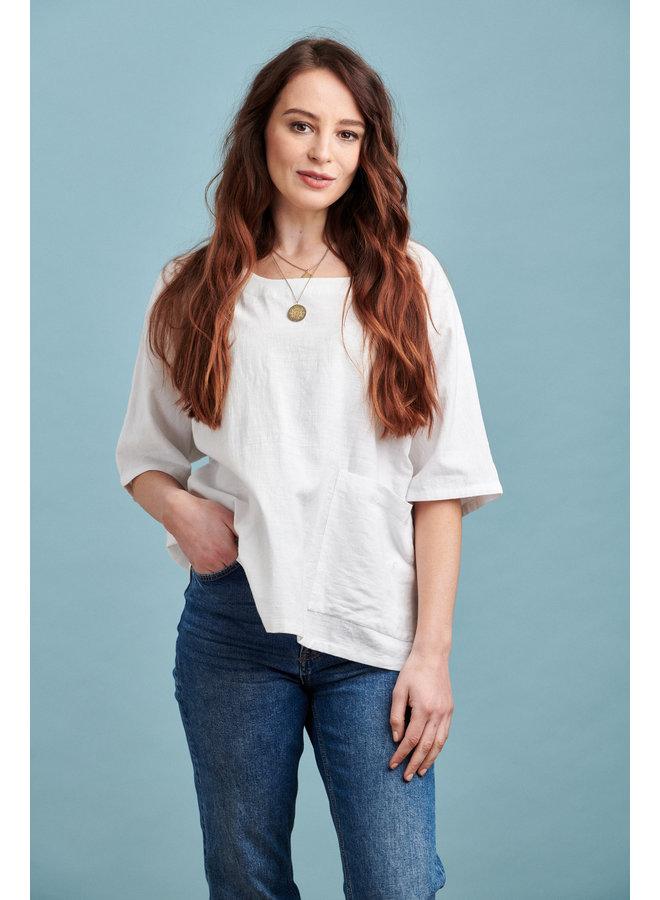 Jaba Misty Oversized Cotton Top