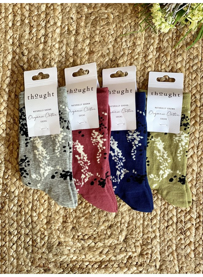 Thought Orpha Floral Socks