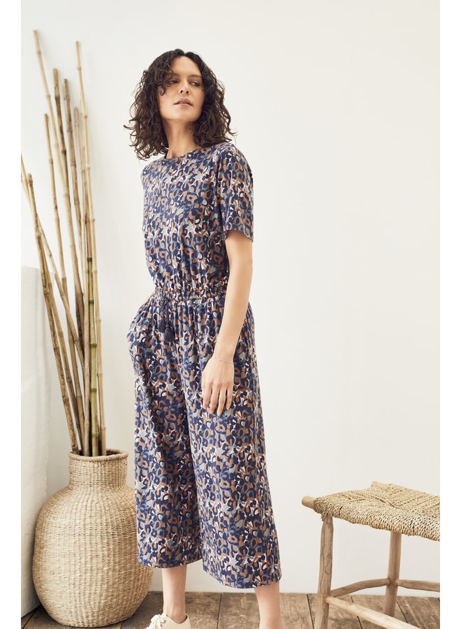 Thought Madelyn Jumpsuit Mid-Blue