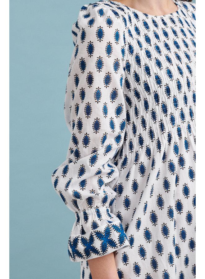 Jaba Cilla Short Dress in Buti Blue