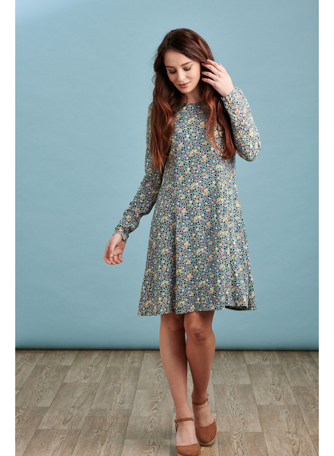 Jaba Nancy Dress  in Spots