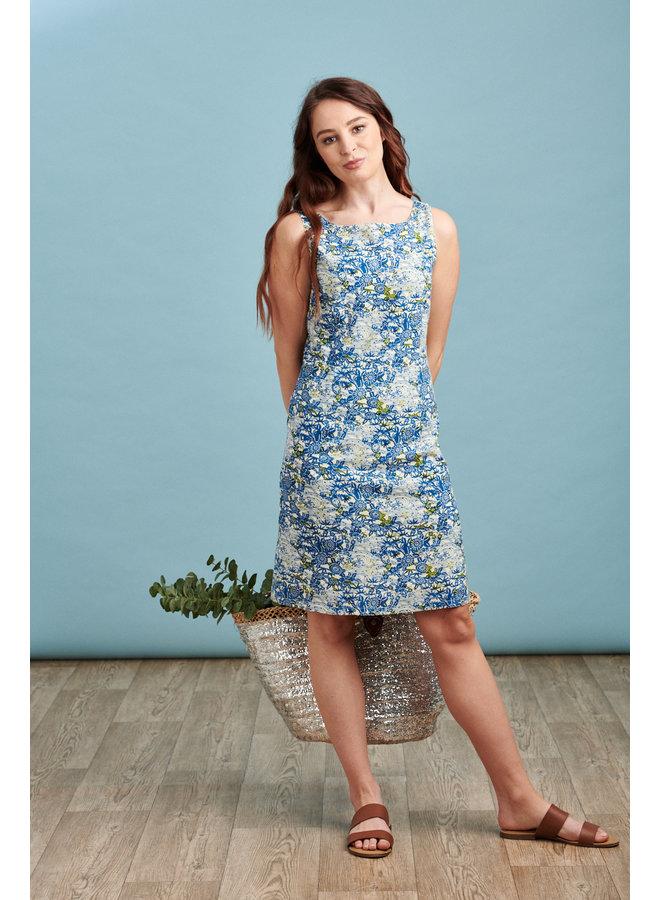 Jaba Debbie Dress in  Garden Print