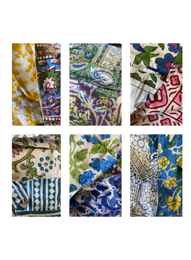 Printed Cotton Reverisble Bag