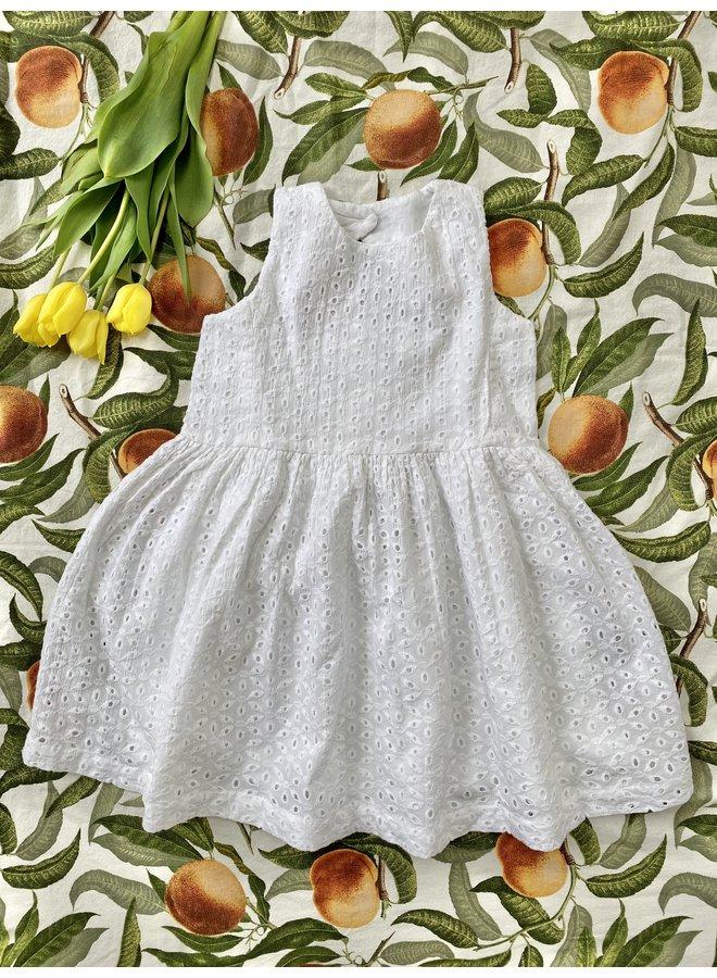 Jaba Kids Emily Dress  in White